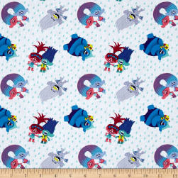 Dreamworks Trolls Troll Friends Toss Multi Fabric