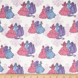 Disney Princess Fashion Princess Friends Multi Pastel Fabric
