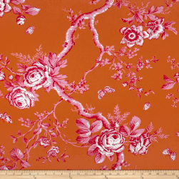 Ralph Lauren Home Ashfield Twill Sateen Floral Flame