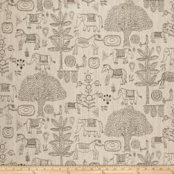 Justina Blakeney Fancy Forest Jacquard Stone Fabric