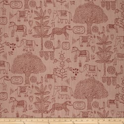 Justina Blakeney Fancy Forest Jacquard Boho Fabric