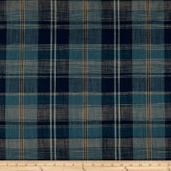 Ralph Lauren Home LCF68195F Ryokan Plaid Indigo Fabric