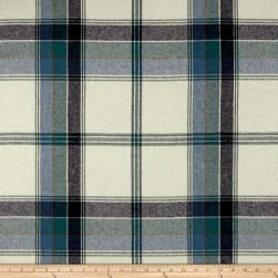 Ralph Lauren Yealand Plaid Melton Wool Fir Fabric