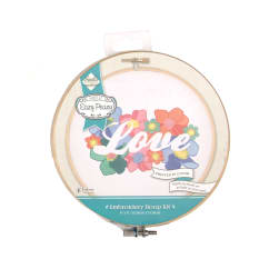 Love Reverse Embrodiery Hoop Kit