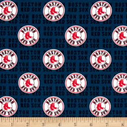 MLB Boston Red Sox Cotton Broadcloth