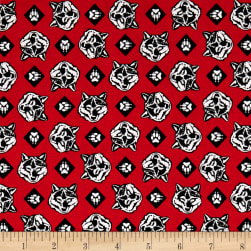 Riley Blake Cub Scouts Wolf Red Fabric