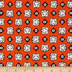 Riley Blake Cub Scouts Tiger Orange Fabric