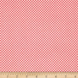 Riley Blake Sweet Prairie Gingham Pink Fabric