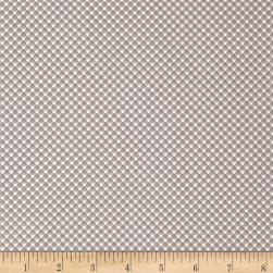 Riley Blake Sweet Prairie Gingham Gray Fabric