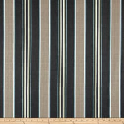 Bryant Kingston Stripe Pewter Fabric