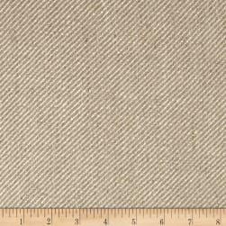 100% European Linen Twill Upholstery Oatmeal Fabric