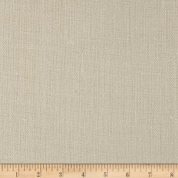 100% European Linen Basketweave Upholstery Oyster Fabric