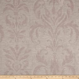 European Linen Blend Damask Sheer Blush