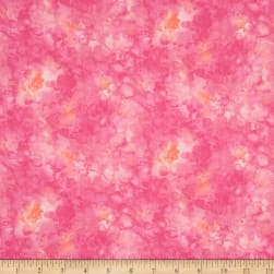 Timeless Treasures Solid-ish Watercolor Texture Fuchsia Fabric
