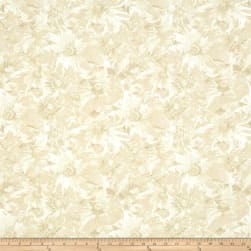 Timeless Treasures Bohemian Blues Daisy Beige Fabric