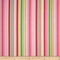 Timeless Treasures Island Breeze Stripe Multi Fabric