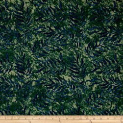 Timeless Treasures Tranquility Jungle Leaves Forest Fabric