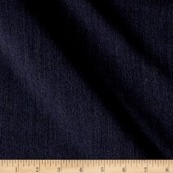 Heathered Tropical Weight Crepe Super 100 Suiting Navy