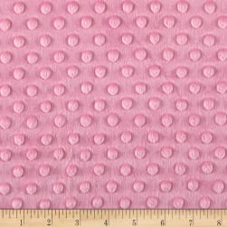 Shannon Minky Cuddle Dimple Bubblegum Fabric
