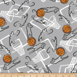 Shannon Minky Cuddle Three-Pointer! Cuddle Steel Fabric