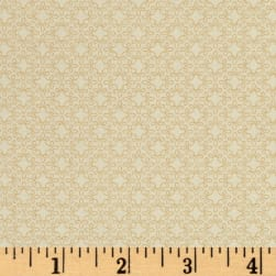Modern Melody Basic Filigree Geo Cream Fabric