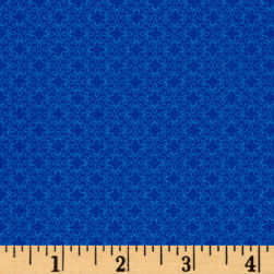 Modern Melody Basic Filigree Geo Royal Fabric
