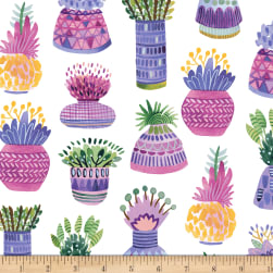Flourish Flower Pots Multi Fabric
