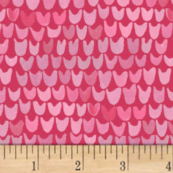 Enchanted Forest Petal Pink Fabric