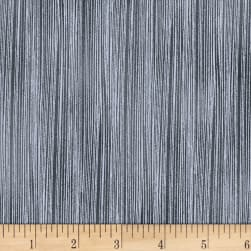 Mystique Texture Stripe Grey Metallic Fabric