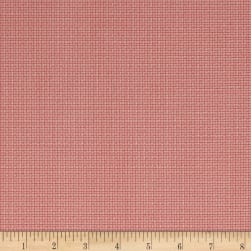 Madeline C.1880-1907 Grid Raspberry Fabric