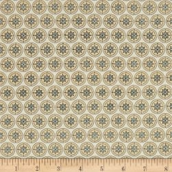 Meridian Compass Cream Fabric