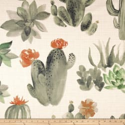 14 Karat Home Cactus Original Barkcloth Fabric