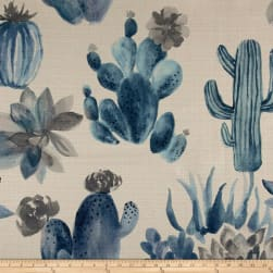 14 Karat Home Cactus Blues Fabric