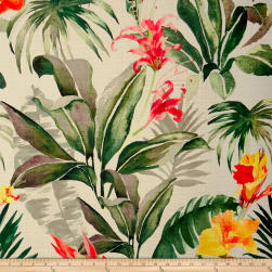 14 Karat Home Tropical Breeze Clover Barkcloth Fabric
