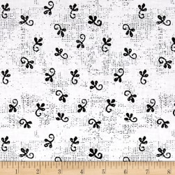 Makers Home Little Ditty White Fabric