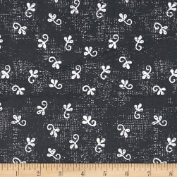 Makers Home Little Ditty Charcoal Fabric