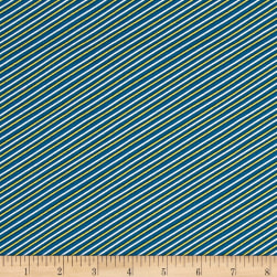Seaside Stripe Navy Fabric