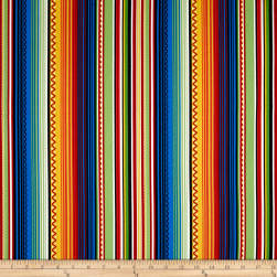 South Of The Border Stripe Multi Fabric