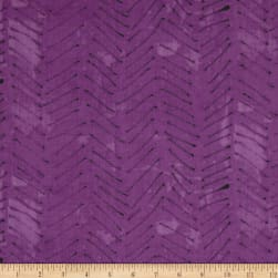 Treasure Hunt Herringbone Iris Fabric