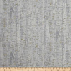 Uncorked Birch Metallic Gold Fabric