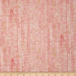 Uncorked Blush Metallic Gold Fabric
