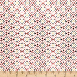 Uppercase Volume 2 Button Red Fabric