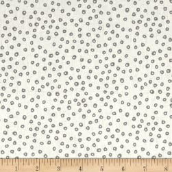 Wild About You Spots White Fabric