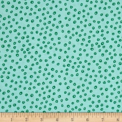 Wild About You Spots Mint Fabric