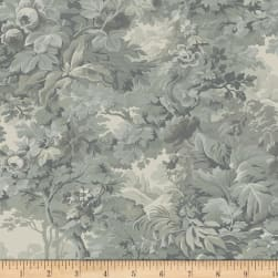 Larisa C.1870 Floral Forest Slate Fabric