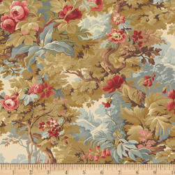 Larisa C.1870 Floral Forest Multi Fabric