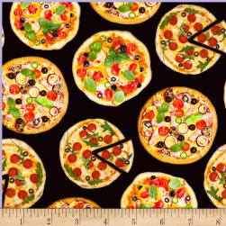 One Of A Kind Pizza Party Multi Fabric