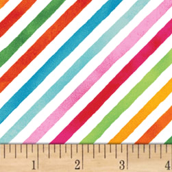 Sweet Treats Stripe Rainbow Multi Fabric