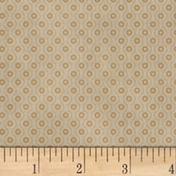 Farmhouse Living Dot Wave Light Grey Fabric