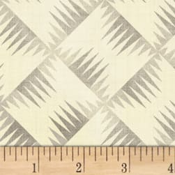 Farmhouse Living Backgammon Grey Fabric